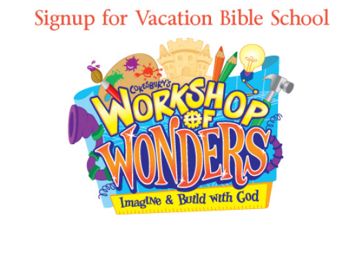 Signup for Vacation Bible School