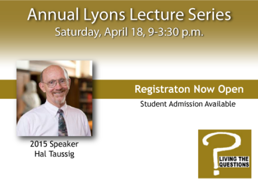 Lyons Lecture Series 2015