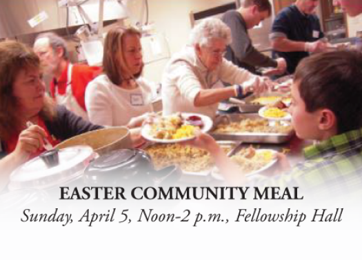 Easter Community Meal - Noon