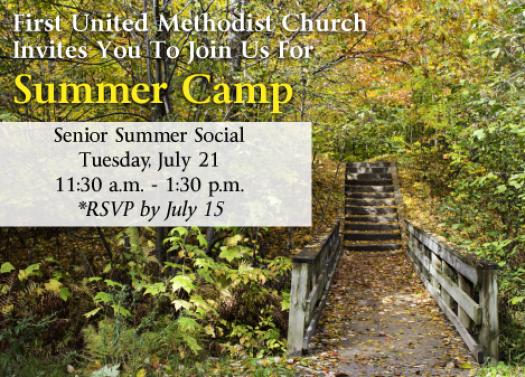 Summer Camp Senior Social 2015