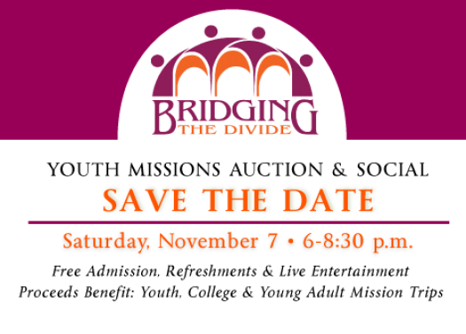 Youth Missions Auction Fundraiser 2015