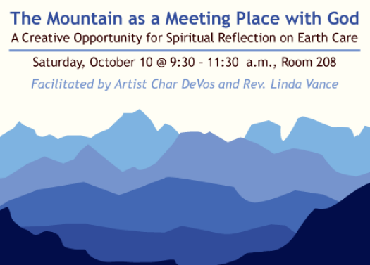 The Mountain as a Meeting Place with God