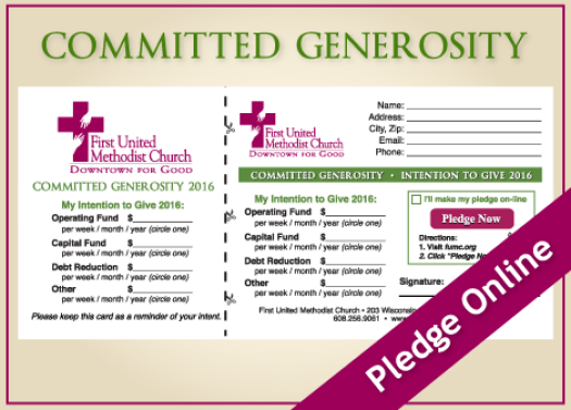 Committed Generosity 2015/16