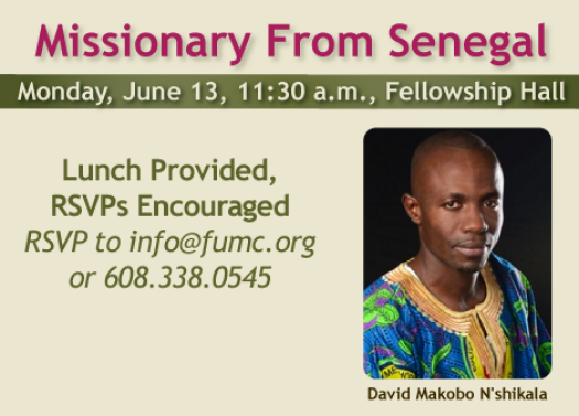 Missionary From Senegal